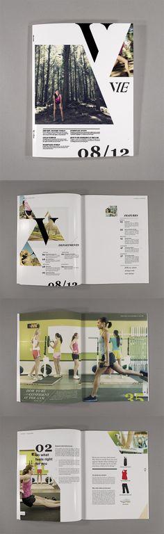 What a harmonic editorial design! Vie... #editorial #design #graphic #design
