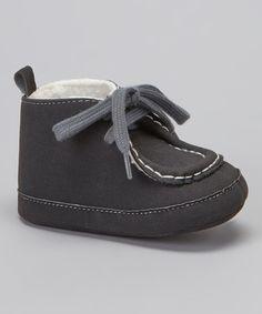 Look at this Rugged Bear Black Chukka Boot on #zulily today! $5.99