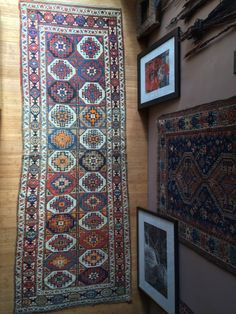 Antique Caucasian rug tribal moghan runner 19th by dreamhousetaos