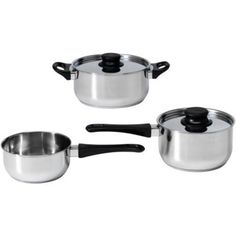 Ikea Annons 5piece Cookware Set Stainless Steel * You can find out more details at the link of the image.-It is an affiliate link to Amazon.