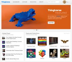 Image of Free STL Files / 3D Printer Models / 3D Printer Files - The Best Sites: Thingiverse