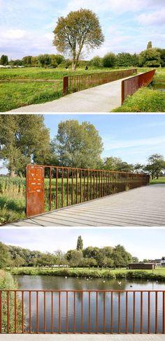 Park Groot Schijn, Maxwan architects + urbanists, in Antwerp, Belgium.