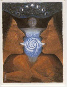 The Goddess. Mother Earth. Mother Nature.  ART by Ben Hodson  http://www.annickpress.com/authors/hodson.asp?author=356