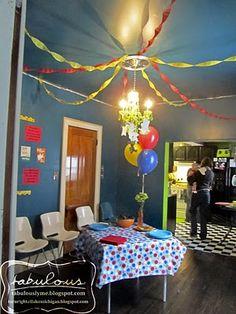 Kiedis' Dr. Suess Birthday decor