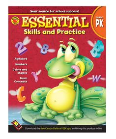 Take a look at this Pre-K Essential Skills and Practice Workbook today!