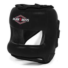 Casco Barra Rude Boys FULL FACE Black