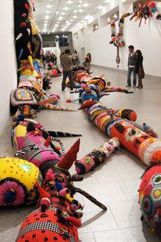 'contamination', by Joana Vasconcelos