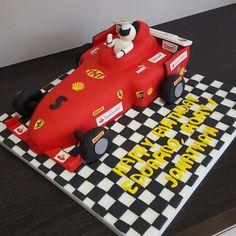 Ferrari Formula 1 Cake by Victoria Defty Couture Cakes! Couture Cakes, Formula 1, Ferrari, Victoria, Victoria Plum