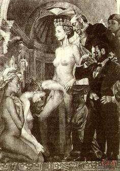 Иллюстрации к «Мастеру и Маргарите»: Иллюстрации Евгения Гритчина. Великий бал у Сатаны.