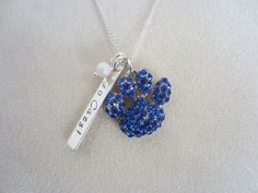 University of Kentucky JewelryUK Paw Print by EllenBKeepsakes, $30.00