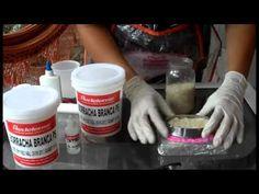 ▶ Como fazer moldes de silicone (Vídeo aula com passo a passo e dicas) - YouTube                                                                                                                                                                                 Más