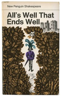 All's Well That Ends Well - Maraid Design - David Gentleman's illustrations for New Penguin Shakespeare books Book Cover Art, Book Cover Design, Book Design, Book Art, Vintage Book Covers, Vintage Books, David Gentleman, Creative Book Covers, Penguin Publishing