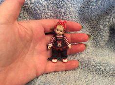 Casa de muñecas en miniatura de guardería 1.12 Th Scale Accesorio Muñecos De Trapo