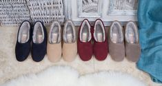 #mensshearlingslippers #shearlingslippers #mensslippers Shearling Slippers, Sheepskin Slippers, Mens Slippers, Moccasins, Pairs, Boots, Collection, Women, Fashion