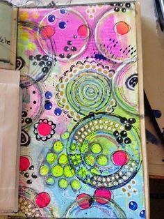 By: susan gallitto art journaling ideas & inspiration art journal pages Art Doodle, Doodle Art Journals, Art Journal Pages, Art Pages, Art Journaling, Smash Book, Bulletins, Art Journal Inspiration, Journal Ideas