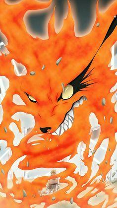Naruto and Kurama Anime Naruto, Naruto Cute, Naruto Shippuden Sasuke, Manga Anime, Hinata, Nine Tailed Fox Naruto, Naruto Nine Tails, Naruto Tattoo, Naruto Wallpaper