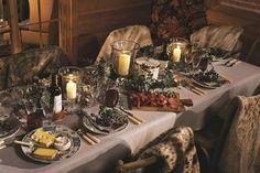 Christmas Table Ideas - Greenery & Candles at OKA (houseandgarden.co.uk)