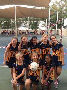 571e27c8d009e Repton School Dubai Netball team at the Dubai English Speaking School  Festive Netball tournament. Looking