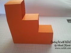 folding box card tutorial