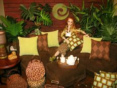 Welcome To The Jungle, 1:6 Living Room by Abigail's Joy by Abigail's Joy, via Flickr