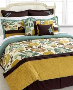 Melrose 8 Piece Full Comforter Set - Bed in a Bag - Bed & Bath - Macy's