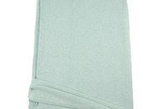Heather Seafoam Open Weave Sweater Knit Fabric 1 yard and 30