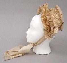 Bonnet  Date: 1909–10 Culture: American Medium: silk