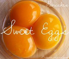 Sweet gelatinous egg pancake