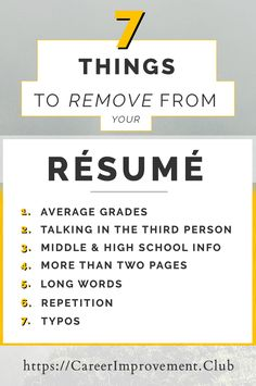 5 Tips for Writing a CV in 2019.