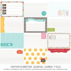 Everyday Journal Cards 7