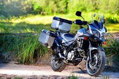 2015 Suzuki V-Strom 650XT off-road Jestem zauroczony tym motocyklem. W końcu koła szprychowe.