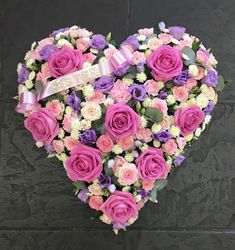 Flowers & Home Mothers Day Wreath, Mothers Day Flowers, Funeral Floral Arrangements, Flower Arrangements, Funeral Sprays, Cemetery Decorations, Funeral Tributes, Funeral Flowers, Valentine Wreath