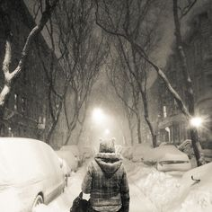nyc in blizzard, 201