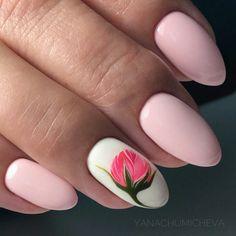 Flower Nail Designs, Simple Nail Art Designs, Beautiful Nail Designs, Nagel Bling, Fingernail Designs, Happy Nails, Nail Jewelry, Spring Nail Art, Boxing Day