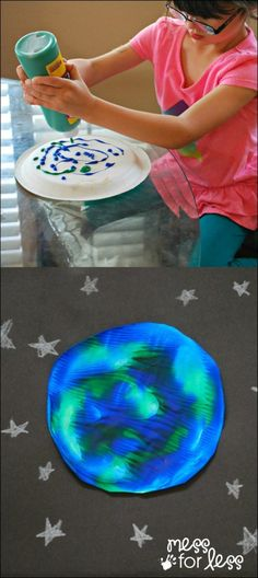 Earth Day paint project