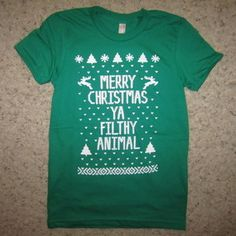 womens ugly christmas sweater t shirt reindeer holiday contest winner awesome | eBay