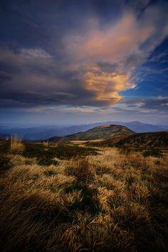 At the end of that day - Bieszczady National Park (Poland) - UNESCO East Carpathian Biosphere Reserve.