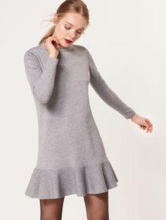 Sukienka ze swetrowej dzianiny, MOHITO, SG619-90X