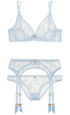 Evident Effect Bra And Brief Both Size 4 Agent Provocateur Amazing Dalliyah Set l