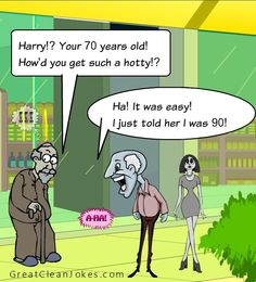Old age dating jokes