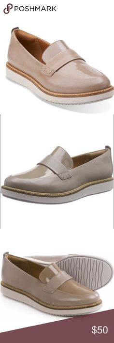 Nude loafers Offers welcome, feel free to ask questions. In good condition Clarks Shoes Flats & Loafers