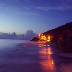 Antigua at night #briefcasetobackpacks #worldtravel