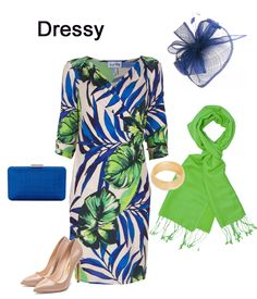Joseph Ribkoff wrap SS18 dress