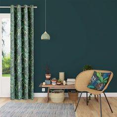 Rideaux pour un salon moderne : notre sélection Living, Curtains, Rugs, Room Ideas, Arm, Glamour, Home Decor, Home Decoration, Home Ideas