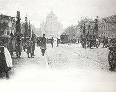 Amsterdam: Hoge Sluis richting paleis van volksvlijt omstreeks 1894
