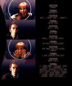 Esta escena, para mi es y será una de las mejores y más cómicas del décimo doctor :D!!! la recuerdo y vuelvo a reir xD