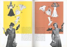 Sneak Peeks & Vintage Dreams | Paris & New York silhouettes for 1940