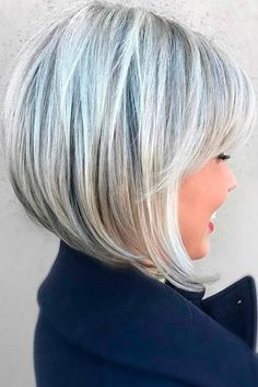 """Long Bob for Pretty Girls picture 3 """"Short Layered Bob Hairstyles will Trending in 2018 - Hairiz"""", """"cute graduated bob haircuts, graduated bob cut hairc Graduated Bob Hairstyles, Stacked Bob Hairstyles, Medium Hairstyles, Hairstyles Haircuts, Graduated Haircut, Hairstyle Short, Stylish Hairstyles, Graduated Bob With Fringe, Girl Haircuts"""