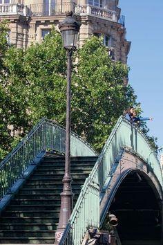 Paris, Canal Saint-Martin