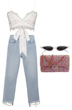 """""""That's it"""" by theyouthryder ❤ liked on Polyvore featuring M.i.h Jeans and Chanel"""